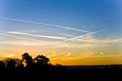 Morgen-Himmel Lizenzfreie Stockbilder