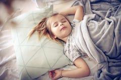 Morgen im Bett stockfotos