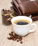 Morgen-Kaffee lizenzfreie stockfotos