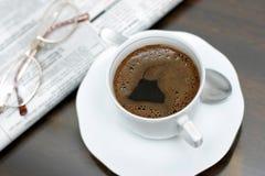 Morgen-Kaffee lizenzfreies stockbild