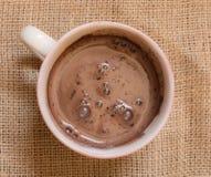 Morgen-Kakao Lizenzfreie Stockfotos