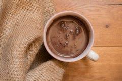 Morgen-Kakao lizenzfreies stockbild