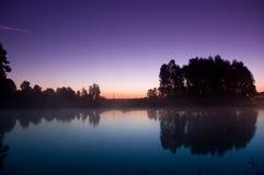 Morgen-Landschaft Stockbilder