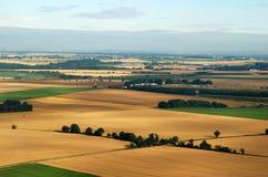 Morgen-Luftaufnahme Stockbild