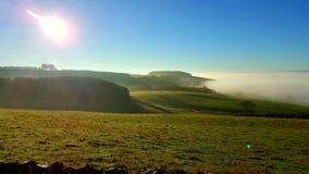 Morgen-Nebel Lizenzfreie Stockfotos