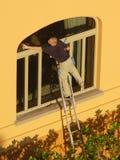 Morgen-Pflege in Palm Beach Lizenzfreie Stockbilder
