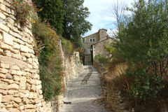 Morgen in Provence Lizenzfreie Stockfotos