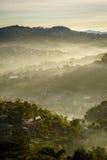 Morgen Ray von Baguio Stockfotos