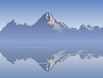 Morgen-Reflexion Stockbild