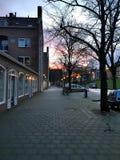 Morgen Rotterdam Stockfoto