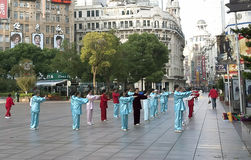 Morgen Shanghai Lizenzfreies Stockbild