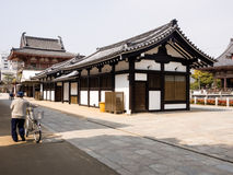 Morgen in Shitennoji-Tempel, Osaka Lizenzfreie Stockfotos