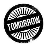 Morgen Stempelgummischmutz stock abbildung