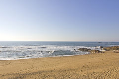 Morgen-Strand Stockfoto