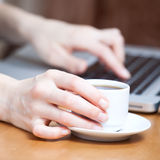 Morgen-Tasse Kaffee Lizenzfreie Stockfotos