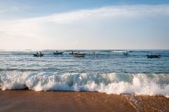 Morgenfischen Lizenzfreies Stockbild