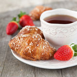 Morgenfrühstück Stockfotos