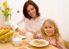 Morgenfrühstück Lizenzfreie Stockfotos