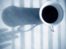 Morgengewohnheit Stockfoto