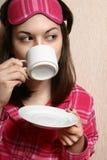Morgenkaffee. Lizenzfreies Stockfoto