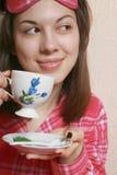 Morgenkaffee. Stockfotografie