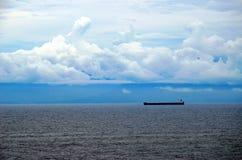 Morgenlandschaft von Coiba-Insel, Panama lizenzfreies stockbild