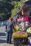 Morgenmarkt Stockbilder