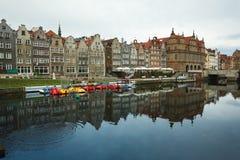 Morgenreflexion von Gdansk Stockfotos