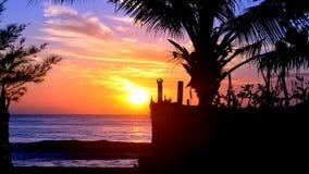 Morgenschönheit des Strandes Stockfoto
