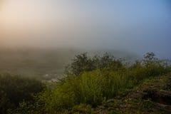Morgenskizzen der Sommerlandschaft Stockfotografie