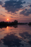 Morgensonnenaufgang Lizenzfreies Stockbild