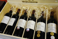 Morgenster wines 1999-2004 Stock Images