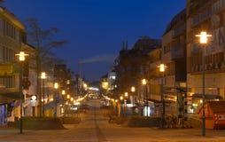 Morgenstraße in Darmstadt stockfotos