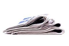 Morgenzeitung Stockbild