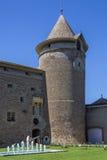 Morges城堡-湖日内瓦-瑞士 免版税库存图片