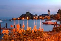 Morges, Ελβετία Στοκ Φωτογραφία