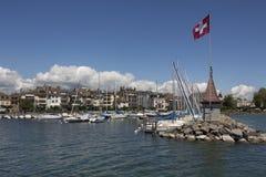 Morges - die Schweiz Stockfotografie