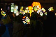 Morgestraichparade van Bazel Carnaval 2019 stock fotografie