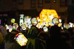 Morgestraichparade van Bazel Carnaval 2019 royalty-vrije stock foto's