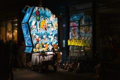 Morgestraichparade van Bazel Carnaval 2019 stock foto