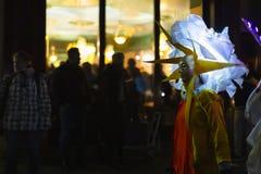 Morgestraichparade van Bazel Carnaval 2019 stock afbeeldingen
