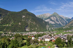 Morgex, Italy Royalty Free Stock Photo
