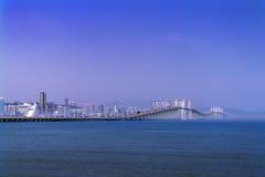 Morgon av Macao. Arkivbilder