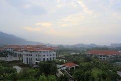Morgon av tianzhuhotellet Arkivbilder