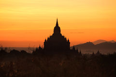 Morgon Bagan Royaltyfria Bilder