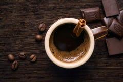 Morgon Coffe royaltyfri bild
