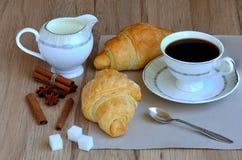 morgon för kaffekopp Arkivbild
