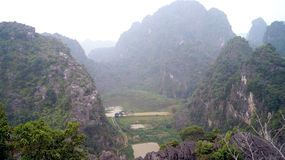 Morgon för norr Vietnam Fotografering för Bildbyråer