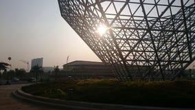 Morgon i Bekasi Royaltyfria Foton