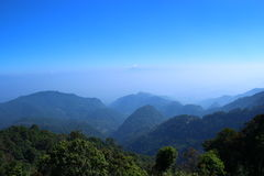 Morgon i berg Royaltyfri Bild